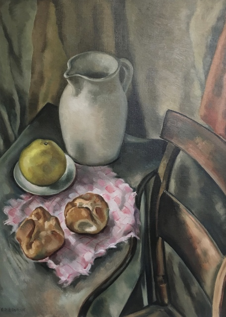 , 'Still Life With White Pitcher,' Mid-20th century, Bakker Gallery