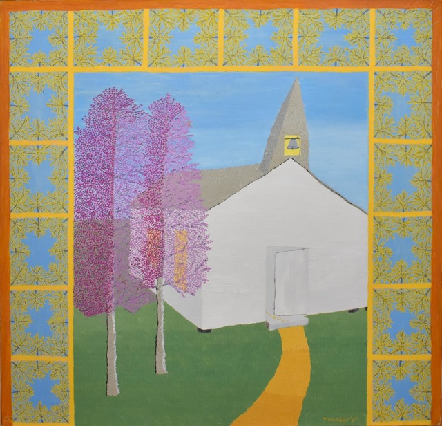 Theora Hamblett, 'White Church', 1959, Amanda Winstead Fine Art