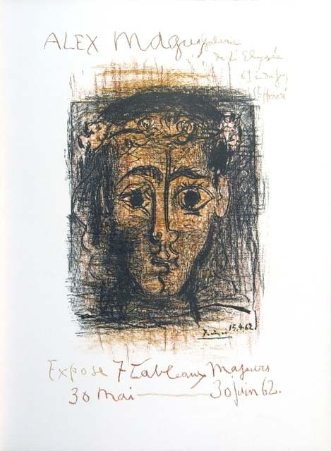 Pablo Picasso, 'Alex Maguy Gallery', 1962, ArtWise