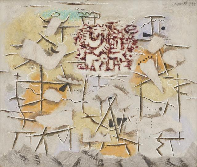 , 'Scherzo (Riesen Abschied I),' 1948, Galerie Schlichtenmaier