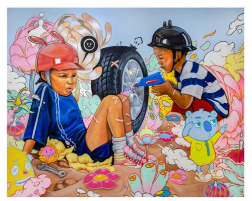 Kayla Mahaffey, 'Stranded', 2019, Print, Giclee Print, End to End Gallery