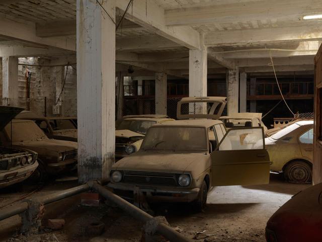 , ''Brand New' Toyota cars,' 2014, Galerie Fontana
