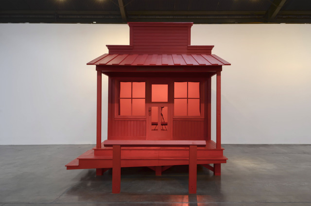 , 'The Sheriff / Barbershop,' 2017, Shoshana Wayne Gallery