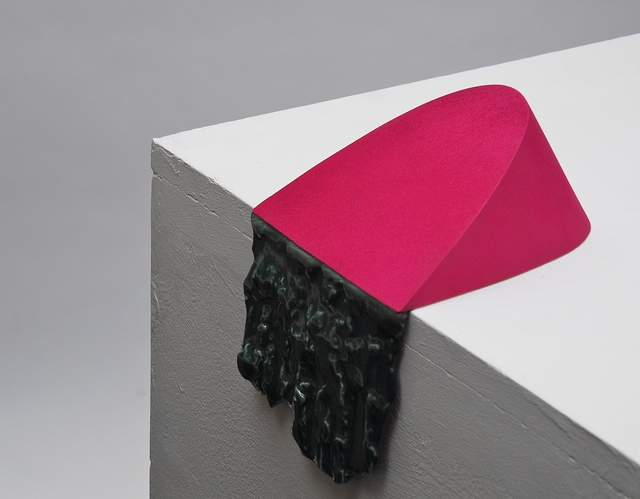 , 'Spill Series, Pink and Green,' 2014, Cynthia Corbett Gallery
