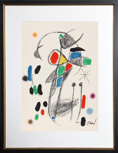 Joan Miró, 'Maravillas con Variaciones Acrosticas en el Jardin de Miro, Number 20', 1975, RoGallery