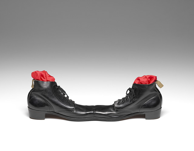 , 'Siamese Shoes I  ,' 1958-remade 1968, National Gallery of Victoria