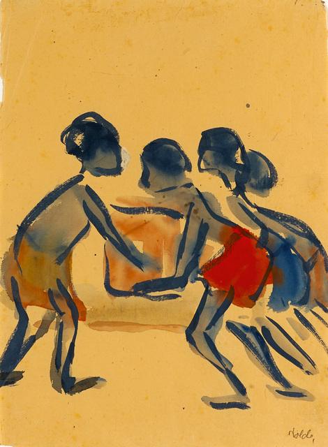 , 'Südsee Kinder,' 1913, Galerie Herold