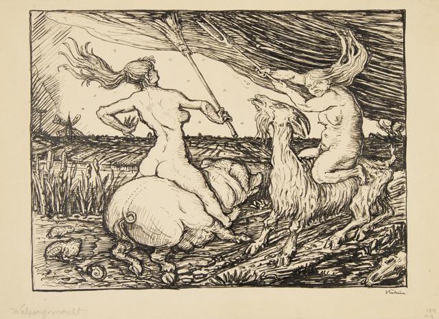 , 'Witches' Sabbath,' 1918, Galerie St. Etienne
