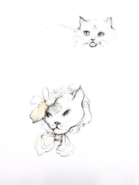 Leonor Fini, 'Leonor Fini - Cats III - Original Engraving', 1985, Galerie Philia