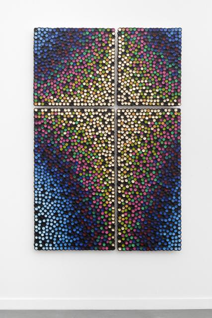 , 'Pulsar Generated Inter Gilded Substitution,' 2014, Litvak Contemporary