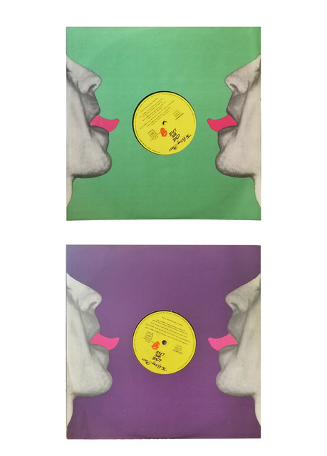 """Andy Warhol, 'The Rolling Stones / """"Love you Live""""', 1977, Print, Offset print on a vinyl cover, NextStreet Gallery"""