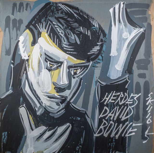 , 'David Bowie - Heroes,' 2015, Subliminal Projects