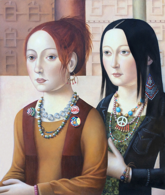 , 'Two Women with Jewelry,' 2018, Front Room Gallery