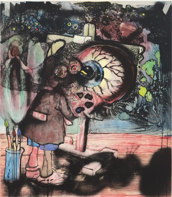 , 'Am Anfang Kommen II,' 2016, Paupers Press
