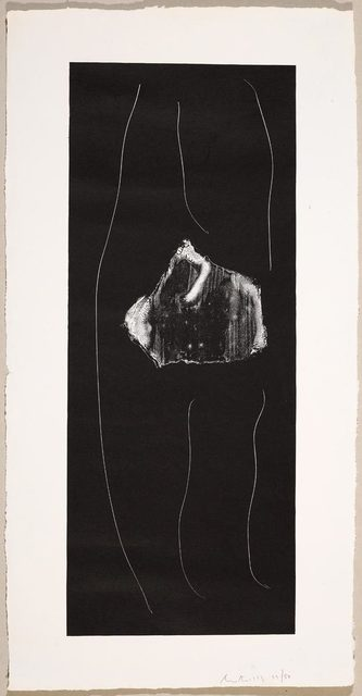 Robert Motherwell, 'Soot-Black Stone # 1', 1973, Koller Auctions