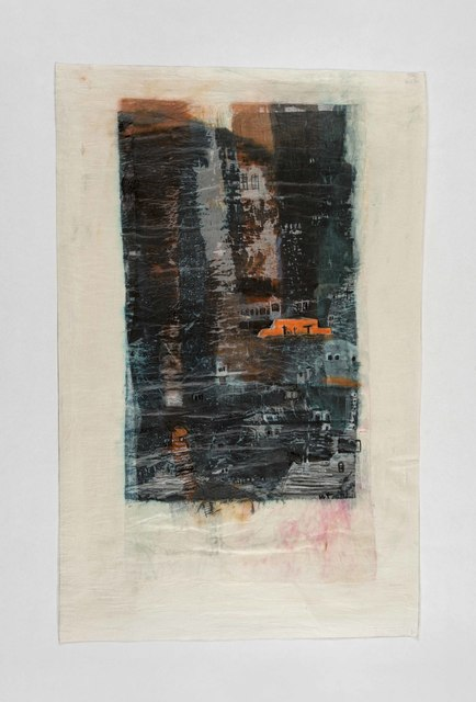 Azade Köker, 'Viertel 15', 2016, Drawing, Collage or other Work on Paper, Mixed media on paper, Zilberman Gallery