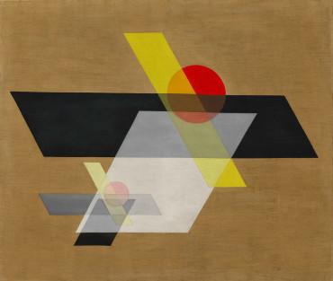 , 'A II (Construction A II),' 1924, Guggenheim Museum