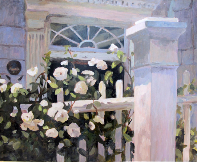 , 'Charleston White Roses,' 2012, Open Mind Art Space