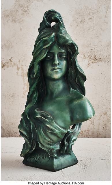 Unknown Artist, 'Female Bust', circa 1900, Design/Decorative Art, Glazed earthenware, Heritage Auctions