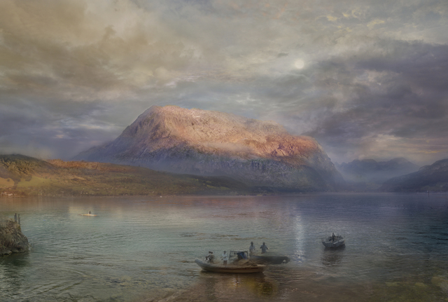 , 'The Red Rigi, Sunset (after JMW Turner, 1842)  ,' , GBS Fine Art