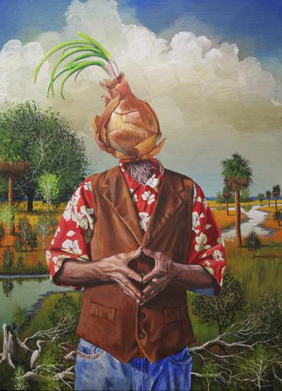 Bill Mead, 'Bitter Fruit', 2015, Painting, Acrylic on Board, Zenith Gallery