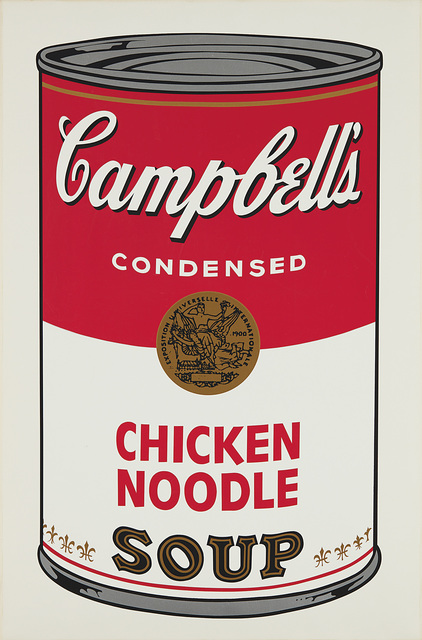 Andy Warhol, 'Chicken Noodle, from Campbell's Soup I', 1968, Print, Screenprint in colors, on wove paper, with full margins., Phillips