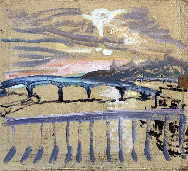 , 'City after Snow on a Sunny Morning, December 11, 2017,' 2017, Robert Kananaj Gallery