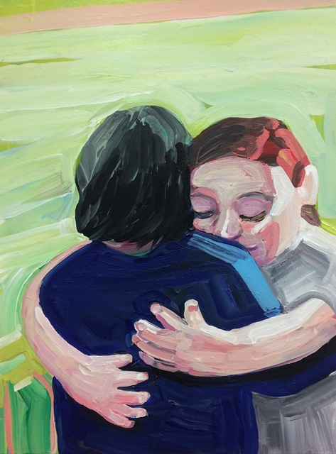 , 'Sister Hug,' 2017, HATHAWAY | Contemporary Gallery