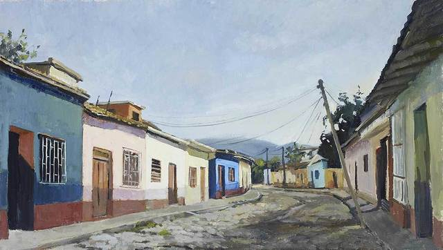 , 'Sunrise in Trinidad,' , Mall Galleries