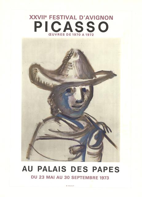 Pablo Picasso, 'XXVII Festival D'Avignon', 1973, ArtWise