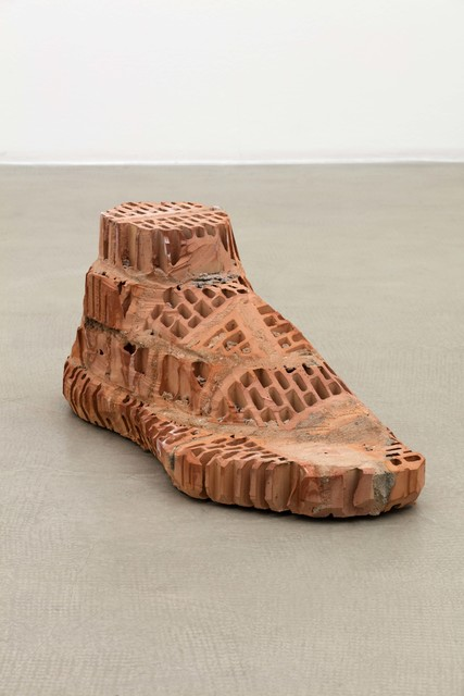 , 'Brick–Foot,' 2016, Hammer Museum