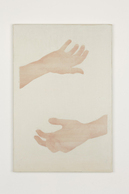 , 'Two hands,' 2017, GRIMM