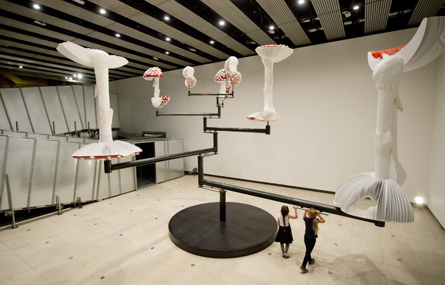 , 'Flying Mushrooms,' 2015, Hayward Gallery at Southbank Centre