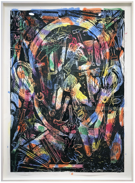 Jim Dine, 'The Bees and Their Merriment', 2017, Jonathan Novak Contemporary Art