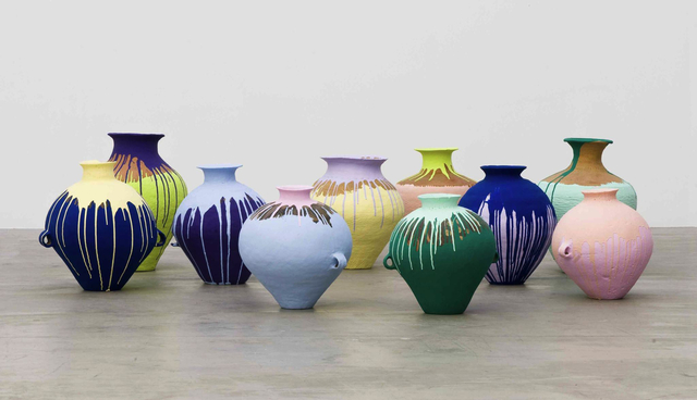 , 'Colored Vases,' 2007, San Francisco Museum of Modern Art (SFMOMA)