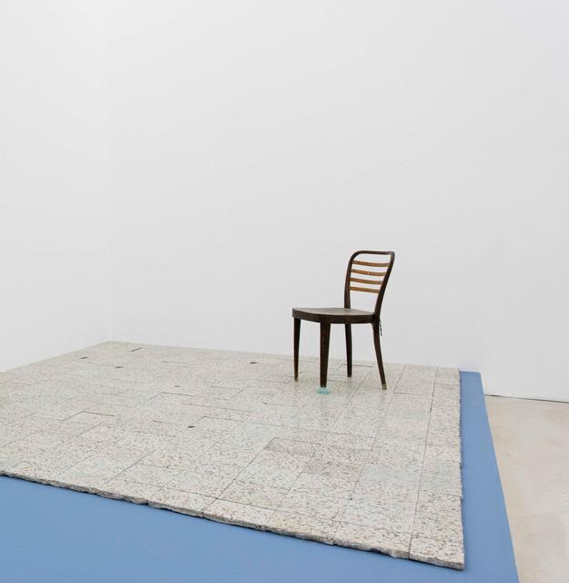 , '5_I fondamenti della luce - archeologia (sedia con vetri) ,' 2015, Lia Rumma