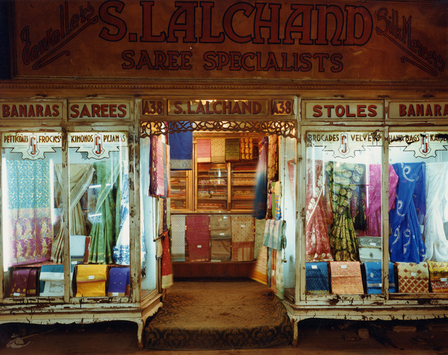 Laura McPhee, 'Saree Shop, Newmarket, Calcutta, India', 1998, Photography, Chromogenic print, Benrubi Gallery