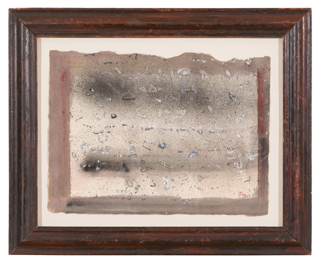Mark Tobey, 'Untitled', 1954, Drawing, Collage or other Work on Paper, Tempera on paper, Galerie Knoell, Basel