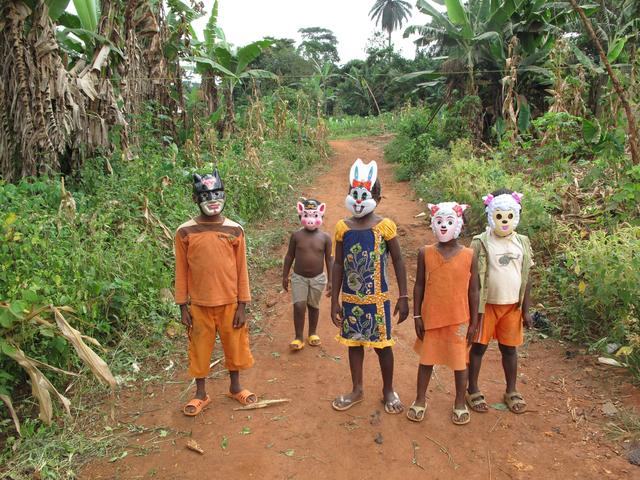 , 'Kids Mascarade,' 2009, Richard Taittinger Gallery