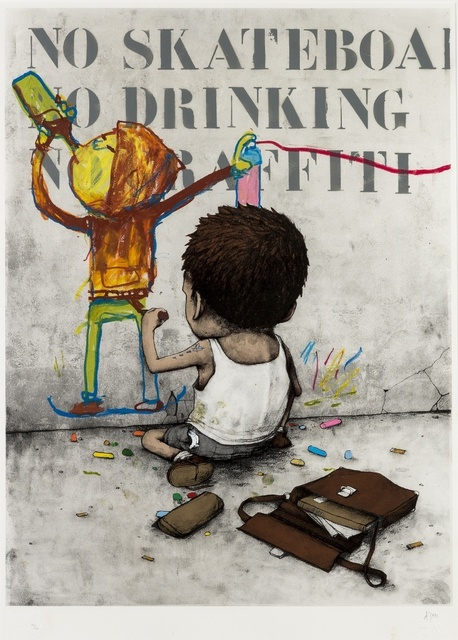 dran, 'I Have Chalks', 2010, Forum Auctions