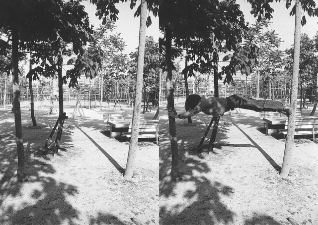 Keiji Uematsu, 'Tree/Man,' 1973, Yumiko Chiba Associates