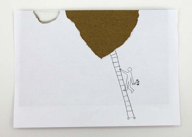 , 'Ljestve (Leiter/ Ladder),' 2000, Aanant & Zoo