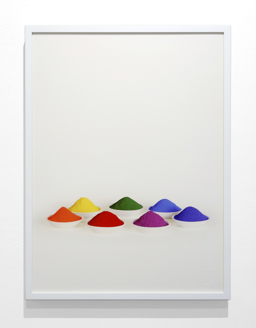 , 'Seven Colors from the series Simple Text,' 2005, Krakow Witkin Gallery