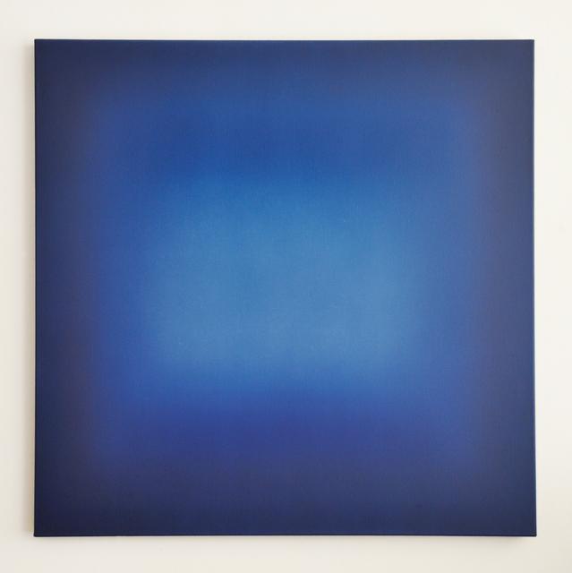 """, '""""Blaues Quadrat"""",' 2018, Galerie Frey"""