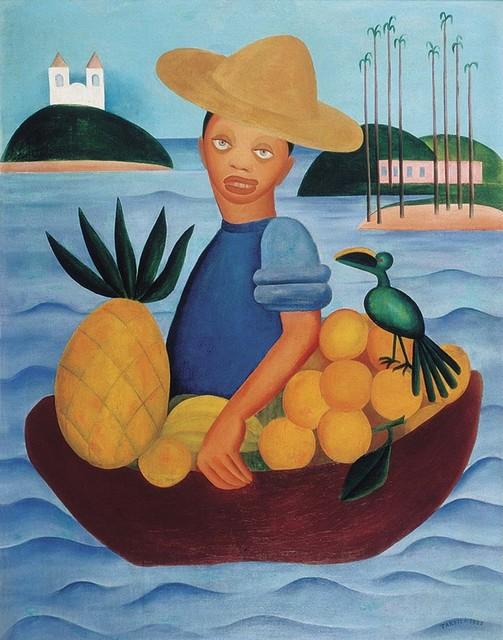 , 'O Vendedor de frutas,' 1925, Museu de Arte Moderna (MAM Rio)