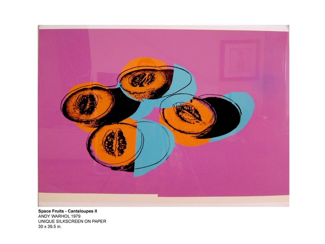 Andy Warhol, 'Space Fruit - Cantaloupes', 1979, HG Contemporary