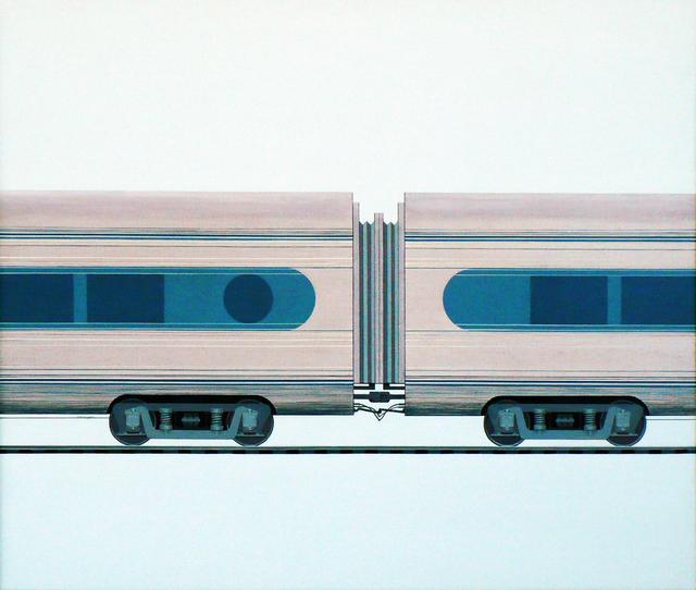 , 'Silver Train,' 2017, LAUNCH LA
