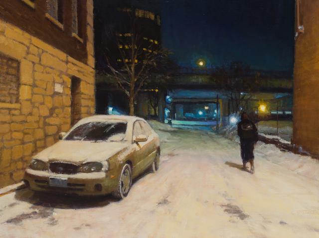 , 'Cold Walk Through the Alley,' 2017, Susan Calloway Fine Arts