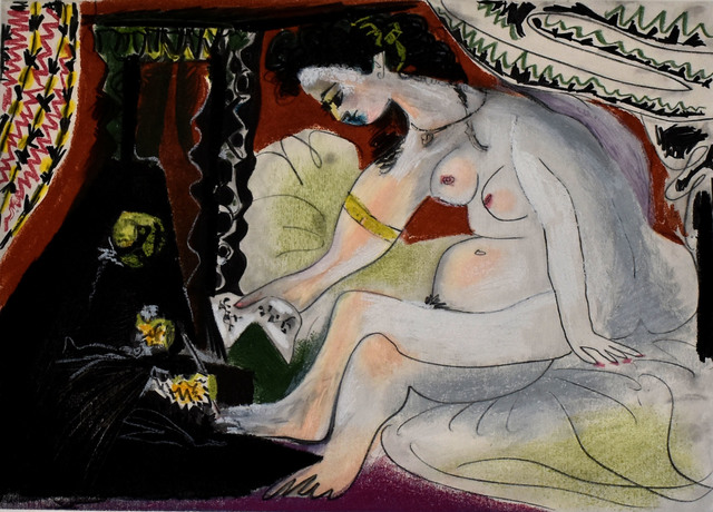 Pablo Picasso, 'Bathsheba', 1966, Gilden's Art Gallery