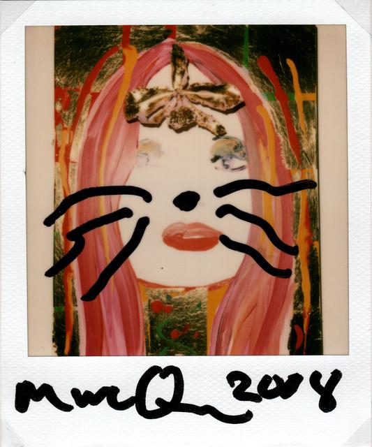 Marc Quinn, 'Kate Moss', 2008, Painting, Polaroid, pen, Grob Gallery